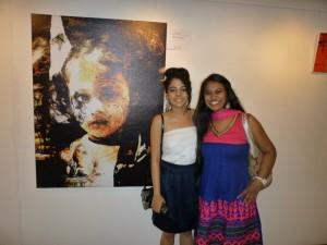 Pranati Khanna with Timbrel Adidala and ASSHA in the background.