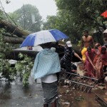 Cyclone Phailin hits close to home.